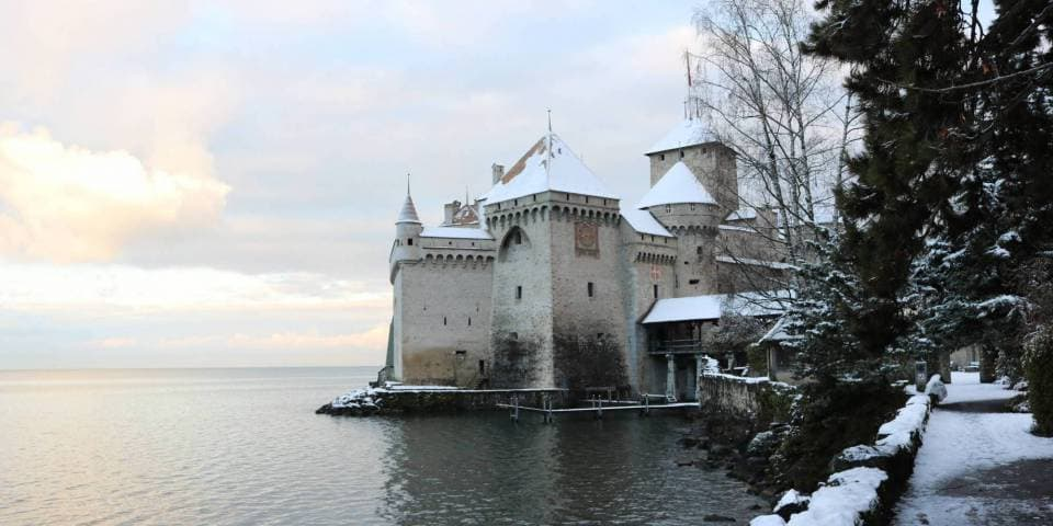 Natale al Castello di Chillon